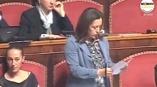 Staminali il discorso del M5S in Parlamento
