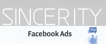 facebook ads sincerita