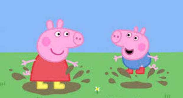 Young maiali in casa scoppia la moda di peppa pig