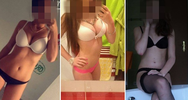 fotky nahych holek blechovi online