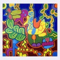 Polpy- omaggio ai muralisti messicani -T. Modotti, F. Kahlo,  D. Rivera, acrilico su miltistrato-2005 1024x1024