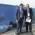 Giuseppe Lasco e Matteo Del Fante Terna