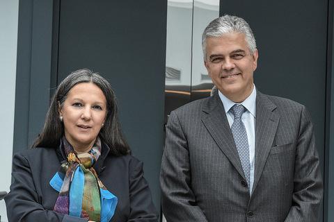 L'AD Luigi Ferraris e la Presidente di Terna Catia Bastioli