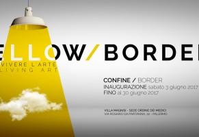 """""""Yellow/Border"""", dal 3 al 30 giugno ventisei artisti espongono a Villa Magnisi"""