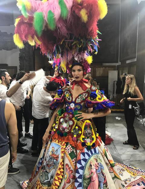 Brave Models per Dolce & Gabbana