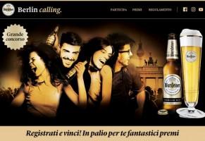 Berlin Calling: La birra tedesca Warsteiner sceglie Berlino per il suo concorso