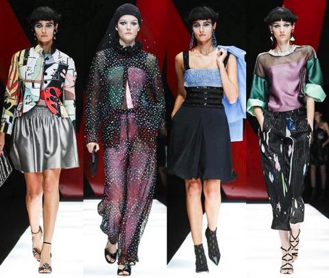 Brave Models Giorgio Armani
